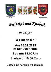 Einladung FF Bergen