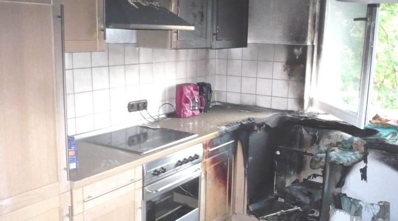 Wohnungs,-Küchenbrände.