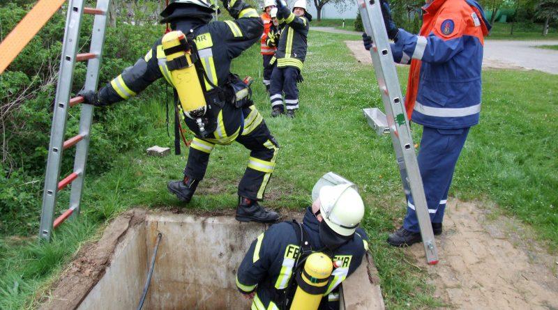 Dienst der Gruppe I, Retten aus einer Grube
