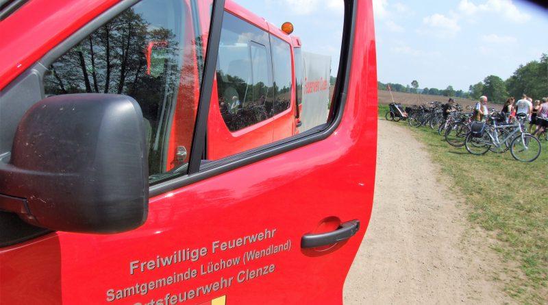 Fahrradtour 2018 der Feuerwehr Clenze