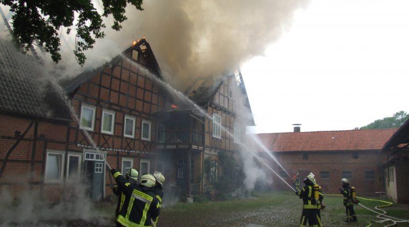 Brandeinsatz in Zargleben
